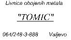 Livnica Tomić