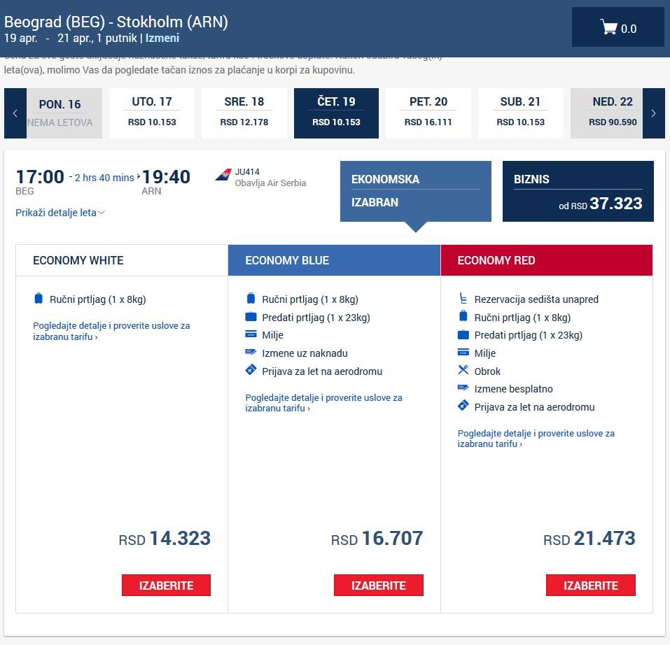 Avionske Karte Air Serbia.Kada Nacinalna Avio Kompanija Airserbia Postane Low Cost