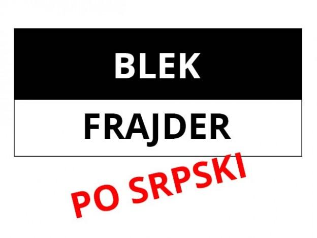 black friday blek frajdej Srbija