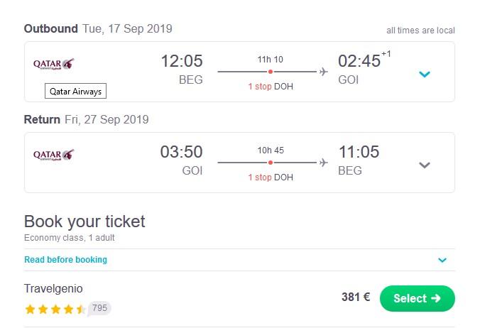 Jeftina avio karta za Indiju