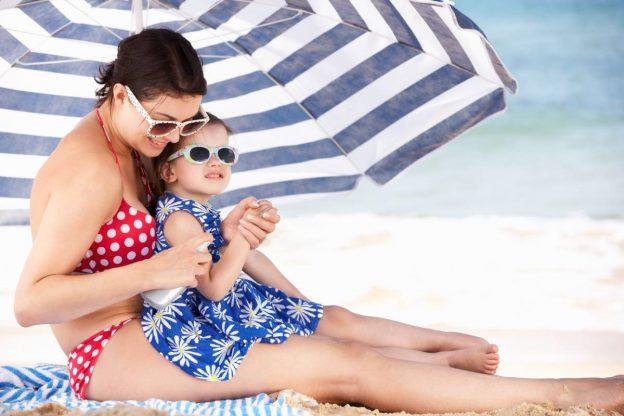 zastita od sunca za decu na plazi
